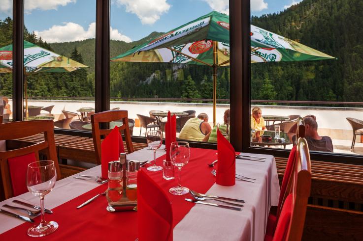 Reštaurácia - Hotel Repiská